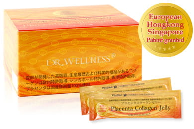 Placenta Collagen Jelly(Mango lime taste)
